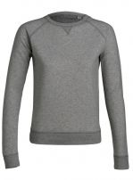 TRACK dark heather grey 100% organic cotton origin