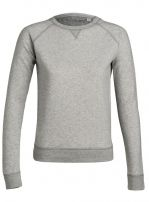 TRACK heather grey 100% organic cotton origin